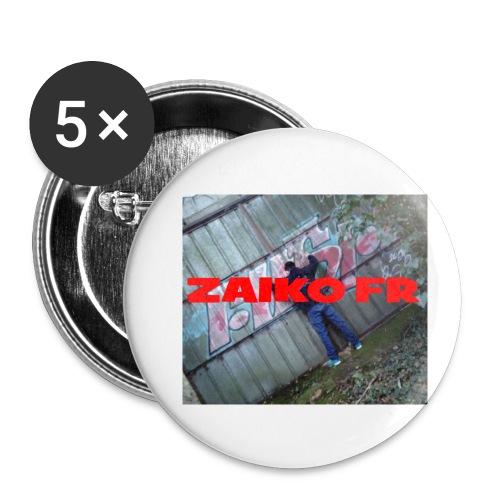 Un pack de badges pour m'avoir sur toi ! - Lot de 5 petits badges (25 mm)
