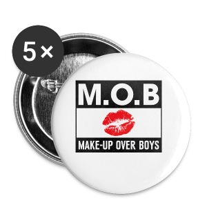 Make-up Over Boys - Buttons klein 25 mm