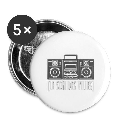 Ghetto blaster by LSDV - Lot de 5 petits badges (25 mm)