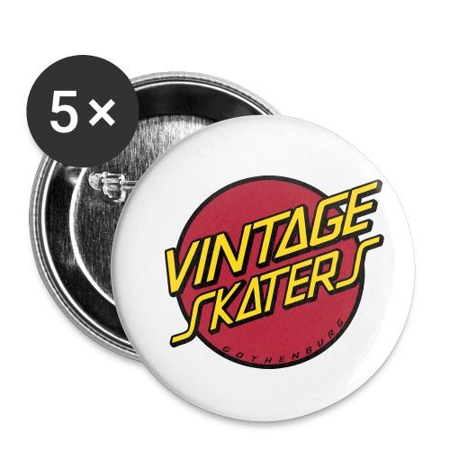 vsvektor - Små knappar 25 mm (5-pack)