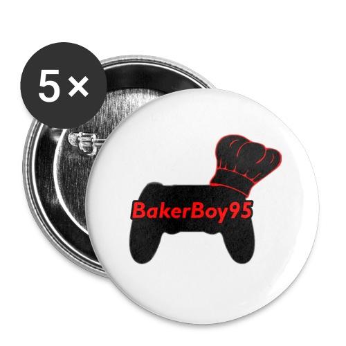 BakerBoy95 Original - Buttons small 1''/25 mm (5-pack)