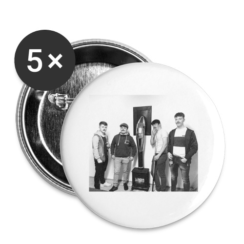 Men of Money - Buttons small 1''/25 mm (5-pack)