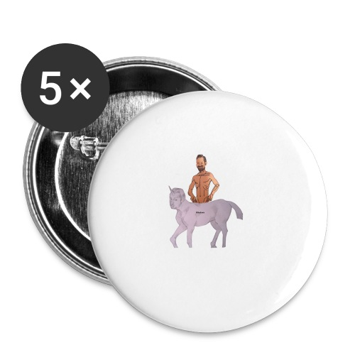 Das Biturmemehorn - Buttons klein 25 mm (5er Pack)