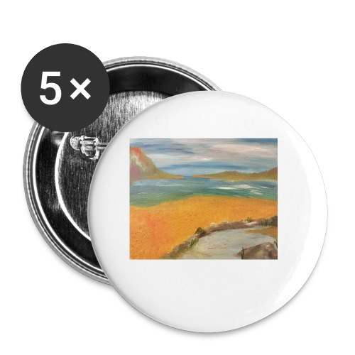 ca 1 - Buttons small 1''/25 mm (5-pack)