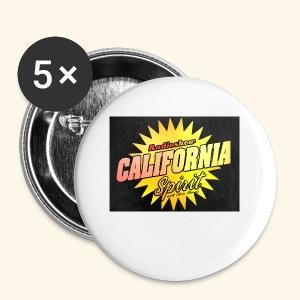 California Spirit Radioshow Classic - Badge petit 25 mm