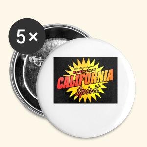California Spirit Radioshow Vintage - Badge petit 25 mm