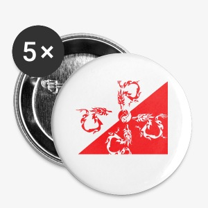 draghi - Spilla piccola 25 mm