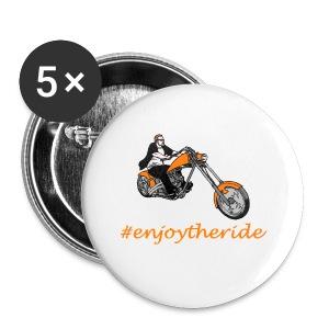 enjoytheride - Badge petit 25 mm