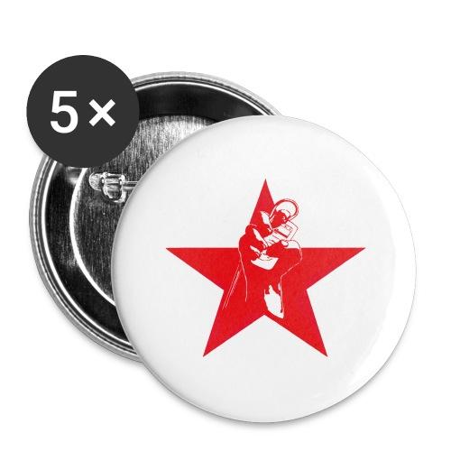 Ipod revolution - Små knappar 25 mm (5-pack)