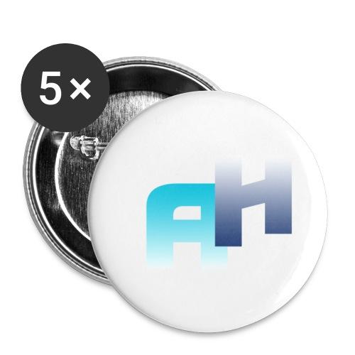 Logo-1 - Confezione da 5 spille piccole (25 mm)