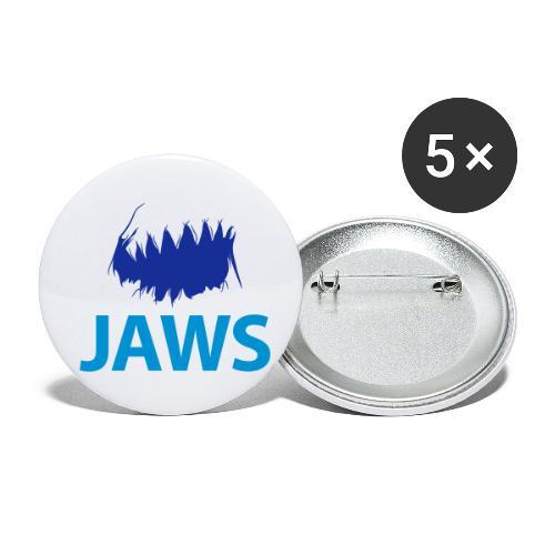 Jaws Dangerous T-Shirt - Buttons small 1''/25 mm (5-pack)