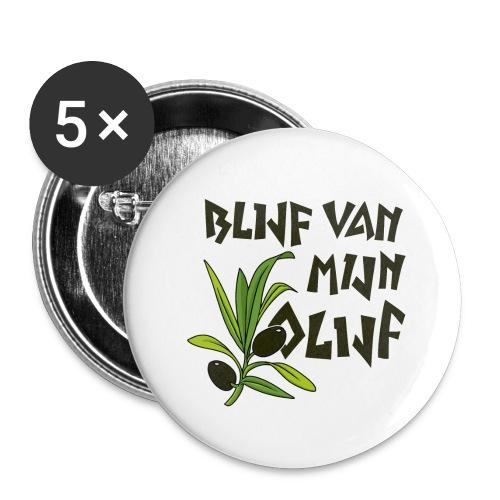 blijf van mijn olijf donker - Buttons klein 25 mm