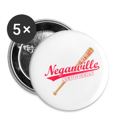 Neganville Sluggers - Buttons small 1''/25 mm (5-pack)