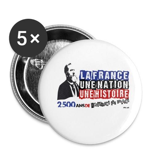 Jean Jaurès - Lot de 5 petits badges (25 mm)