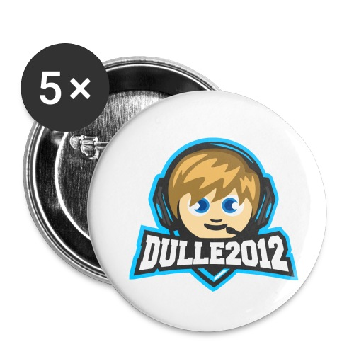 DULLE2012 - Små knappar 25 mm (5-pack)