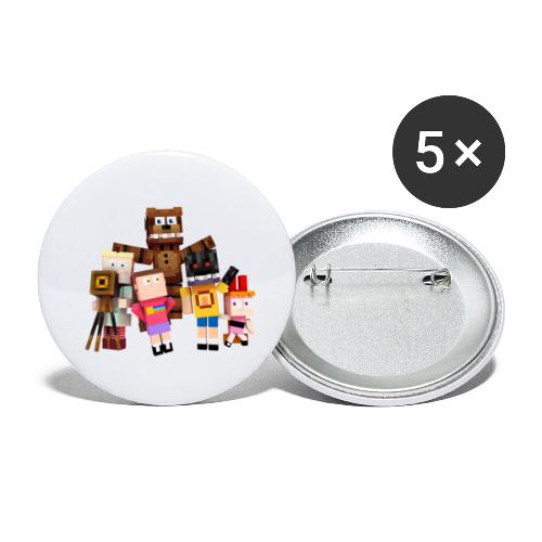 Withered Bonnie Productions - Meet The Gang - Buttons small 1''/25 mm (5-pack)