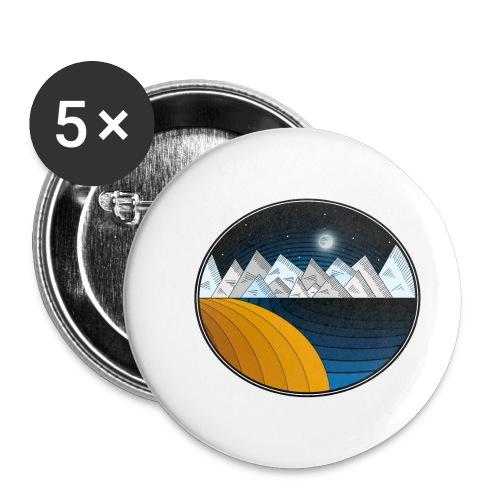 EL VIAJE - Paquete de 5 chapas pequeñas (25 mm)