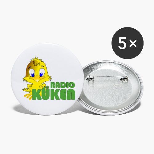 Radio Küken Das Original - Buttons klein 25 mm (5er Pack)