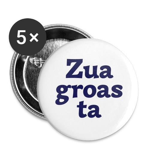 Zuagroasta - Buttons klein 25 mm (5er Pack)