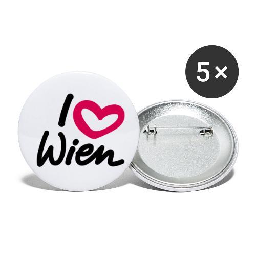 I love Wien. - Buttons klein 25 mm (5er Pack)