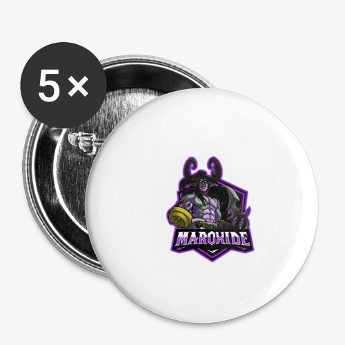 Maroxide Merch Store - Buttons small 1''/25 mm (5-pack)