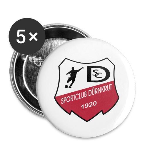 Vektorgrafik - Buttons klein 25 mm (5er Pack)
