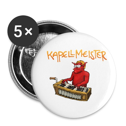 Kapellmeister - Buttons small 1''/25 mm (5-pack)