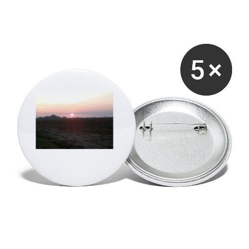 Alba - Confezione da 5 spille piccole (25 mm)