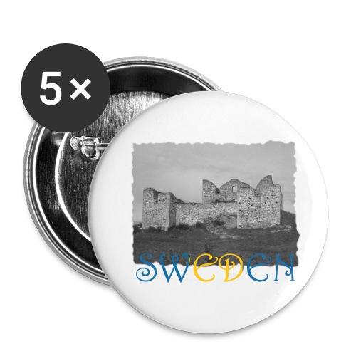 SWEDEN #1 - Buttons klein 25 mm (5er Pack)