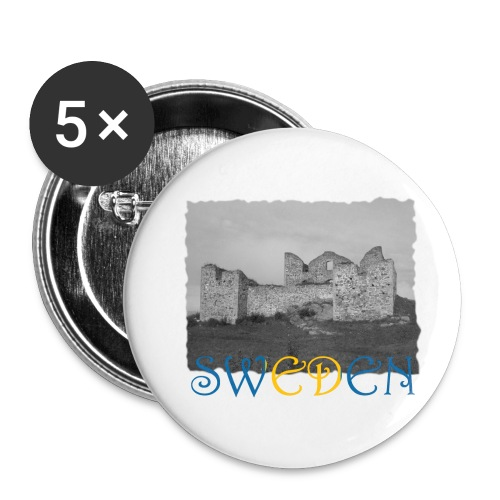 SWEDEN #1 - Buttons klein 25 mm (5er Pack)