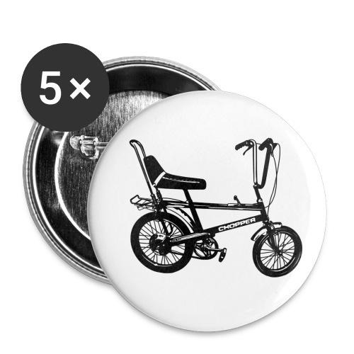 Chopper - Buttons small 1''/25 mm (5-pack)