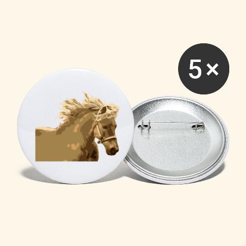 shetland - Buttons klein 25 mm (5er Pack)