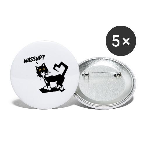 Stray cat - Confezione da 5 spille piccole (25 mm)