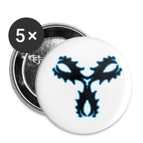 Fluxkompensator - Buttons klein 25 mm (5er Pack)
