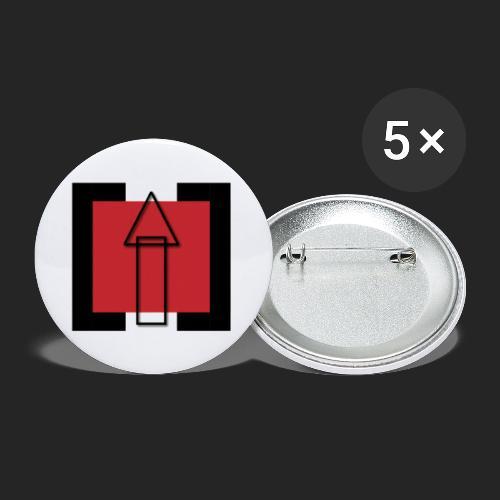 TechUPWorld Accessoirs - Buttons klein 25 mm (5er Pack)