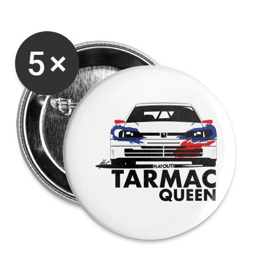 Tarmac Queen 306 Maxi Rally - Lot de 5 petits badges (25 mm)