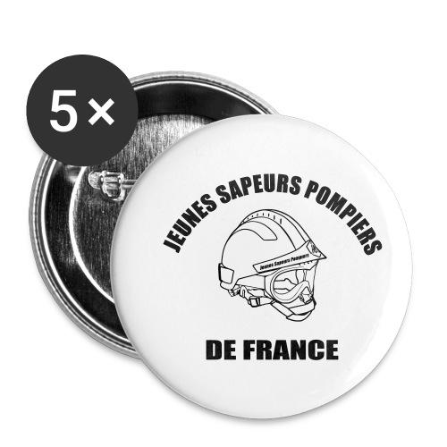 Jeunes Sapeurs Pompiers de France - Lot de 5 petits badges (25 mm)