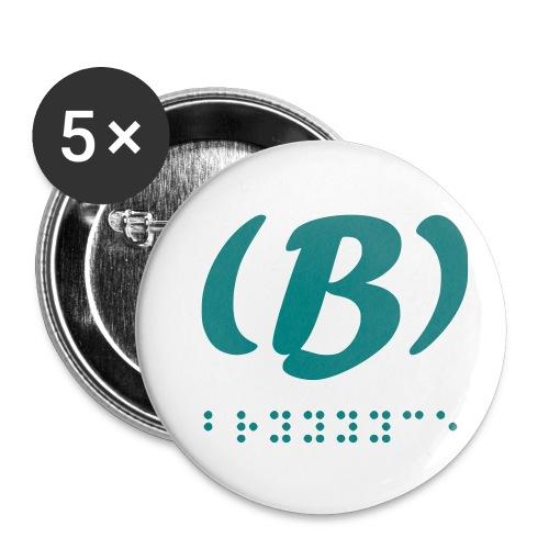 LVET M'rode 1.0 - Lot de 5 petits badges (25 mm)