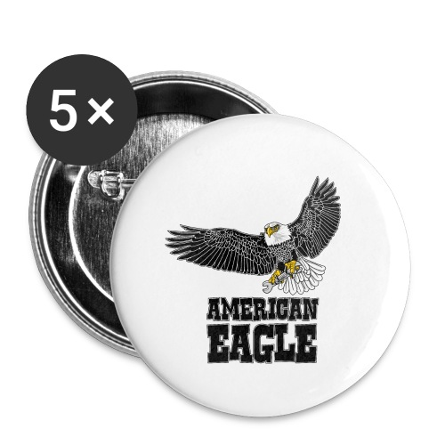 American eagle 2 - Buttons klein 25 mm (5-pack)