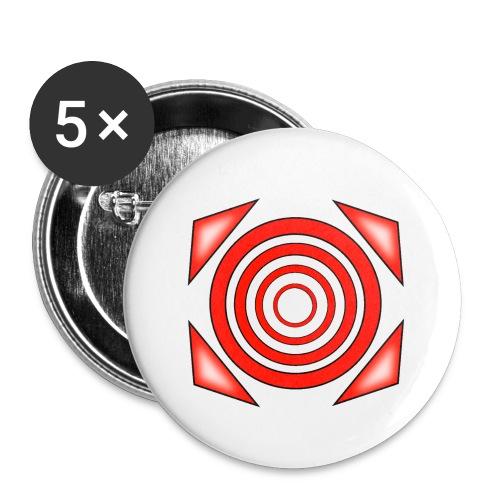 dizzy - Rintamerkit pienet 25 mm (5kpl pakkauksessa)