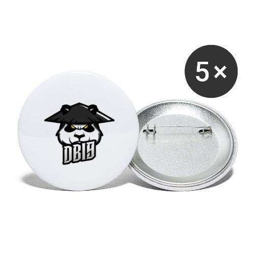 DB19 logo - Rintamerkit pienet 25 mm (5kpl pakkauksessa)