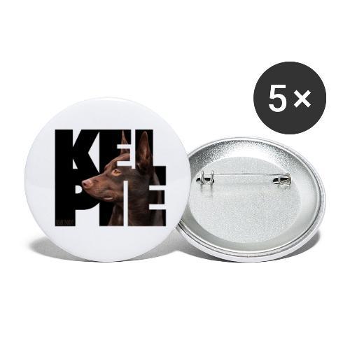 Kelpie II - Rintamerkit pienet 25 mm (5kpl pakkauksessa)