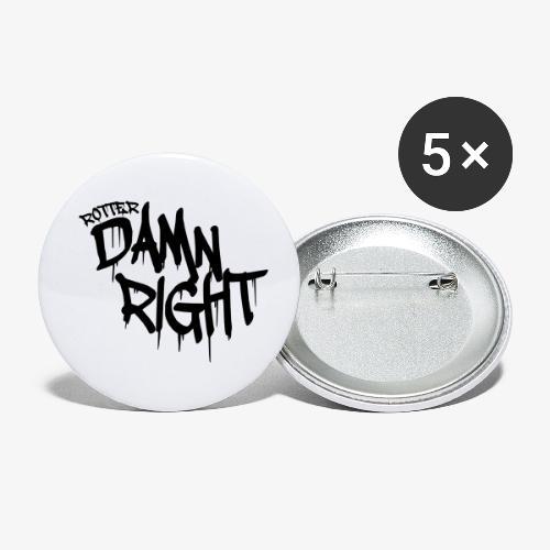 Rotterdamnright - Buttons klein 25 mm (5-pack)