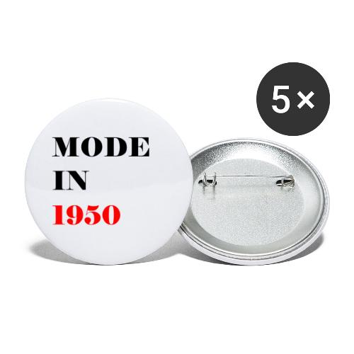 MODE IN 150 - Buttons small 1''/25 mm (5-pack)