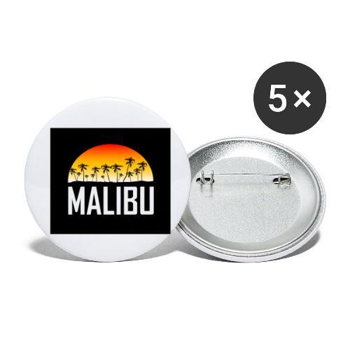 Malibu Nights - Buttons small 1''/25 mm (5-pack)