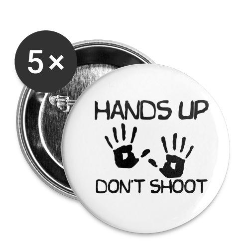 Hands Up Don't Shoot (Black Lives Matter) - Buttons klein 25 mm (5-pack)