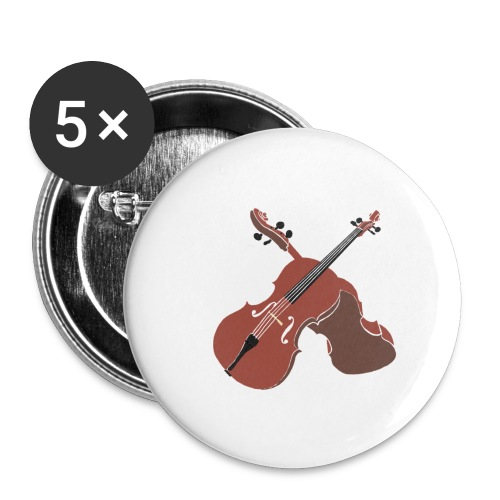 Cello - Buttons small 1''/25 mm (5-pack)