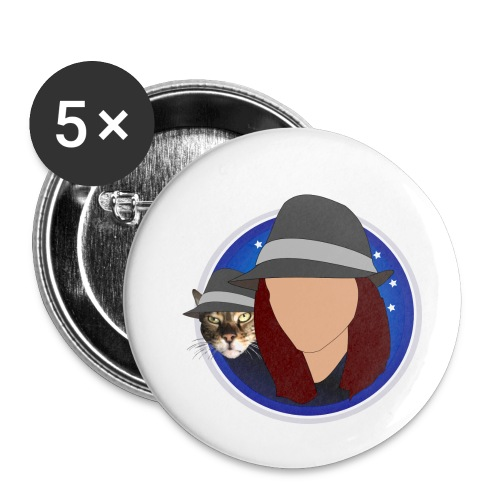 DiscoAndGeorge - Buttons small 1''/25 mm (5-pack)