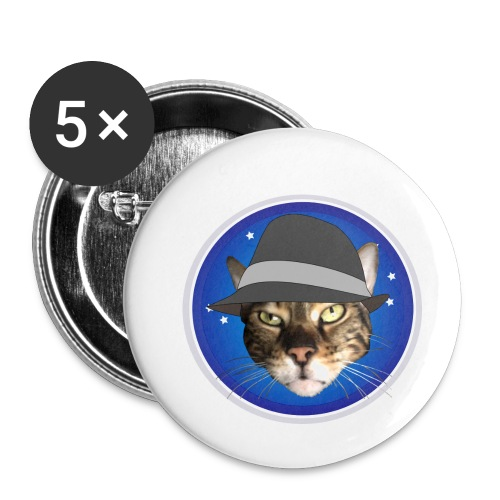 GeorgeBlue - Buttons small 1''/25 mm (5-pack)