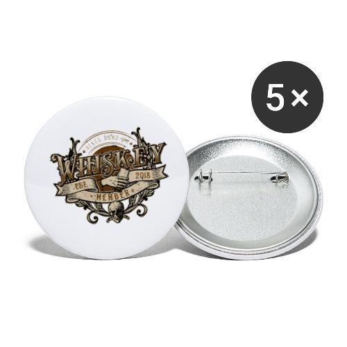 Rocker Member - Buttons klein 25 mm (5er Pack)